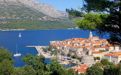 Korčula Island on the Adriatic Sea in Croatia. Flickr:Kate Tann