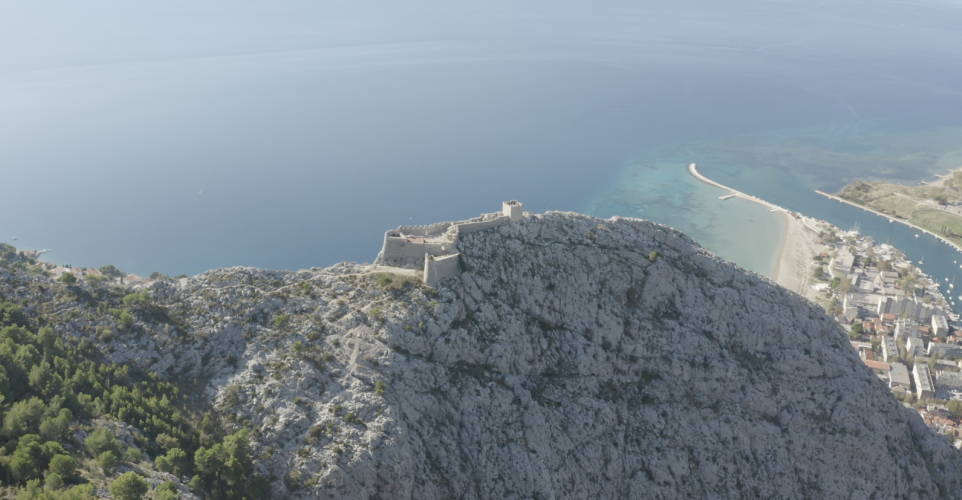 Starigrad-fortica - Fortress above Omis, Croatia - Photo by Jan VandenHengel #mavicpro2