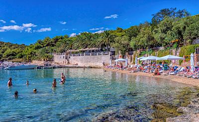 Swimming on Hvar Island, Croatia. Flickr:Arnie Papp