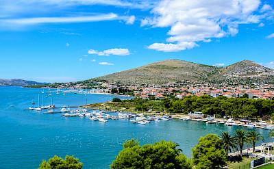Trogir along the Dalmatian Coast in Croatia. Flickr:Nick Savchenko