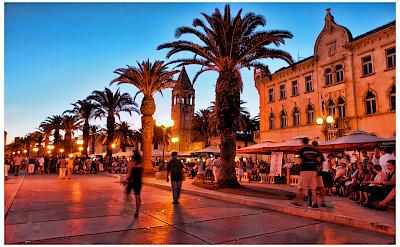 Evening in Trogir in Split-Dalmatia County, Croatia. Flickr:Mario Fajt