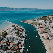 Cetina River in Omis, Croatia. Wikimedia Commons:Kris Martyn