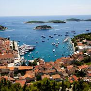 Harbor of Hvar Island, Dalmatia, Croatia. Photo via Flickr:Ramon