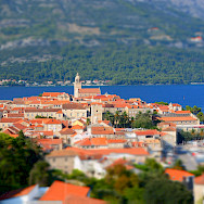 Korcula Island overlooking the Adriatic Sea, Croatia. Flickr:Paul Arps