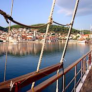 Bike & Boating in Trogir, Croatia. Photo by Carol Dalton