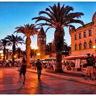 Evening stroll through Trogir, Dalmatia, Croatia. Flickr:Mario Fajt