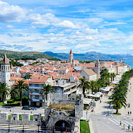 Sweeping view of Trogir along the Dalmatian Coast, Croatia. Flickr:Nick Savchenko
