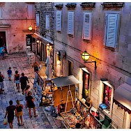 Bike rest in Trogir, Croatia. Photo via Flickr:Mario Fajt