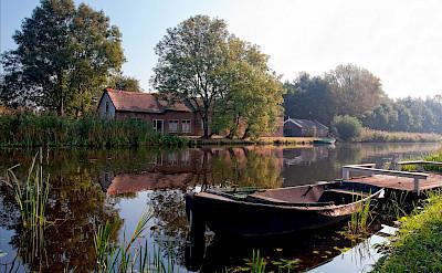 Polderland of Alblasserwaard in South Holland, the Netherlands. ©Hollandfotograaf
