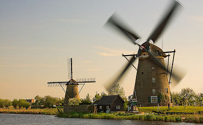 Windmills in Kinderdijk, South Holland, the Netherlands. CC:ESOPhoto