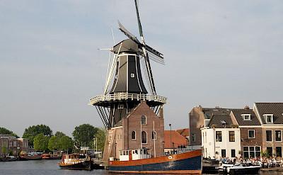 De Adriaan Windmill in Haarlem, the Netherlands. CC:Dfarrell07