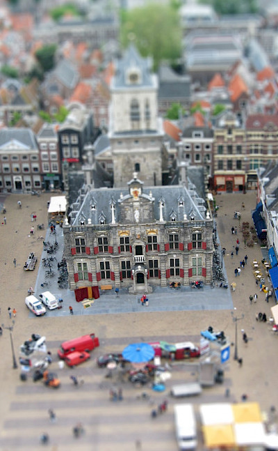View from Nieuwe Kerk in Delft, Holland. Photo via Flickr:Fabio Bruna