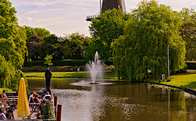 Windmill in Leiden, the Netherlands. Flickr:Tambako the Jaguar
