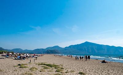 Beach in Dalyan, Turkey. Flickr:Dumphasizer