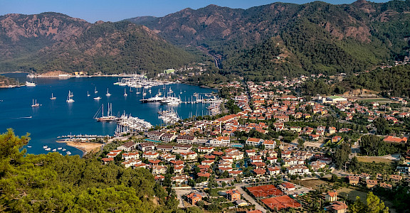 Göcek in Turkey. Flickr:Jorge Franganillo