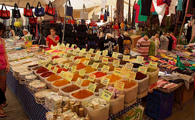 Spice Market in Dalyan, Turkey. Flickr:Dave