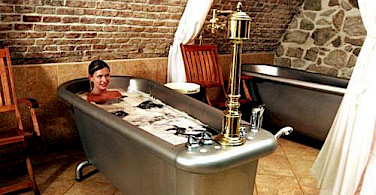 The famous beer spa!!