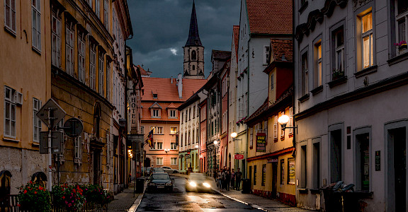 Cheb, Czech Republic. Flickr:Berndt Thaller