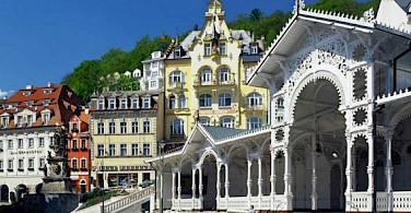 Karlovy Vary Spa Town.