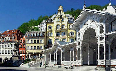Karlovy Vary Spa Town, Czech Republic.