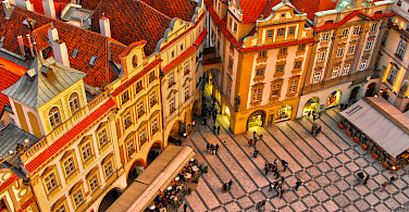 Old Town Square in Prague, Czech Republic. Photo via Flickr:Miguel Virkkunen Carvalho