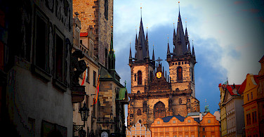 Church of Our Lady before Týn in Old Town Square in Prague, Czech Republic. Photo via Flickr:Stefan Jurca