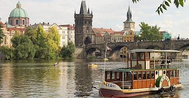 River cruise in Prague - photo via Flickr:david.nikonvscanon