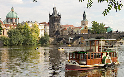 River cruise in Prague, Czech Republic. Flickr:david.nikonvscanon