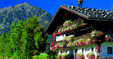 Gorgeous chalets in Styria Province in Austria. Photo via Austrian National Tourist Office