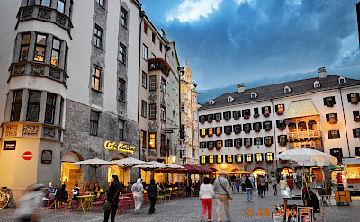Innsbruck along the Inn River, Tyrol, Austria. Flickr:CostelSlincu