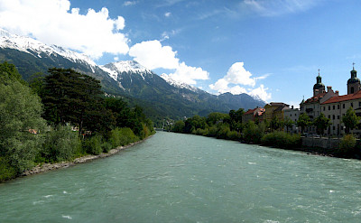 Biking along the Inn River in Austria. Flickr:Abhijeet Rane