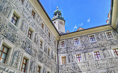 Great facades in Innsbruck, Austria. Flickr:r chelseth