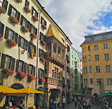 Sightseeing in Innsbruck, Austria. Flickr:r chelseth