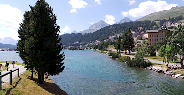 Another view of St Moritz, Switzerland. Photo via Luca Viscardi