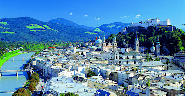 Hohensalzburg Fortress in Salzburg, Austria. Photo courtesy of Austrian National Tourist Office