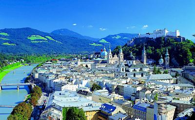 Hohensalzburg Fortress in Salzburg, Austria. © Austrian National Tourist Office