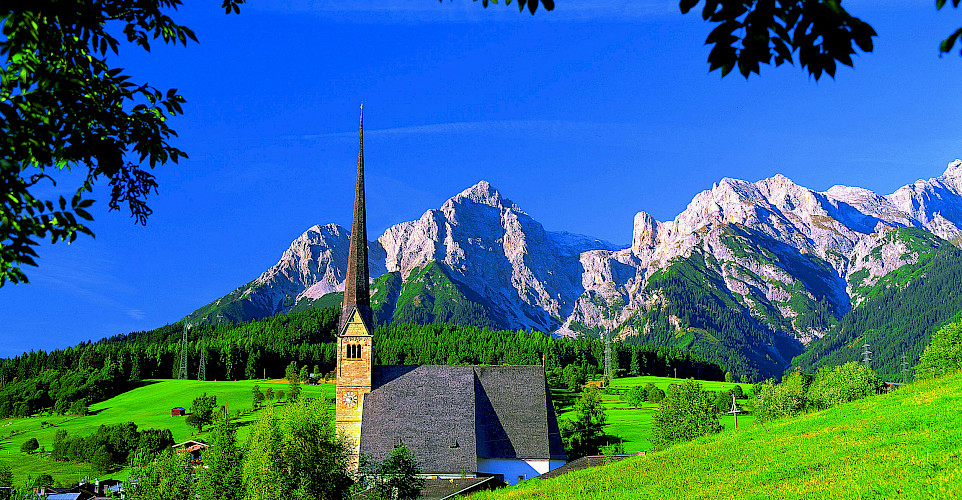 Maria Alm/Steinernes Meer Mountain Range, Zell am See, Austria. © Austrian National Tourist Office