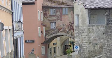 Altstadt in Burghausen, Chiemsee, Bavaria, Germany. Photo via Flickr:Allie_Caulfield