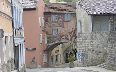 Altstadt in Burghausen, Chiemsee, Bavaria, Germany. Flickr:Allie_Caulfield