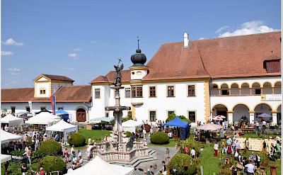 Reichersberg's famous monastery, Austria. Flickr:Janos Korom Dr.