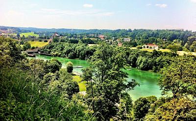 Salzach River in Burghausen, Germany. Flickr:Volker Kannacher