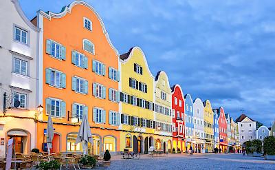 Beautiful Gothic city of Schärding in Upper Austria. Flickr:Matheus Swanson