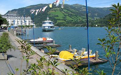 Zell am See in the Salzburg district, Austria. Flickr:Leo-setä