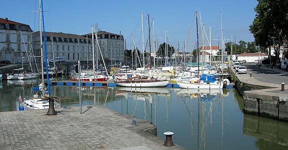 Port of Rochefort - photo via Wikimedia Commons: Remi Jouan