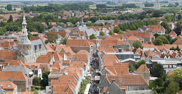 View from the belfry in Zierikzee, Zeeland, the Netherlands. Photo via Flickr:Jose Maria Barrera Cabanas
