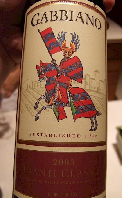 Wine from the local Chianti region, Italy. Photo via Flickr:Joe Hall