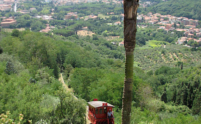 Funicular in Montecatini Terme, Tuscany, Italy. Photo via Flickr:Jackie Proven