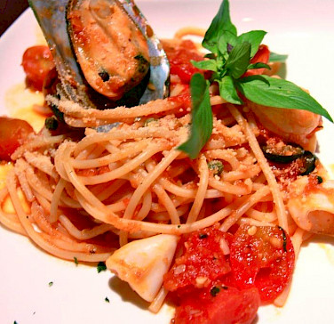 Seafood pasta Italian style. Photo via Flickr:Promote Restaurant