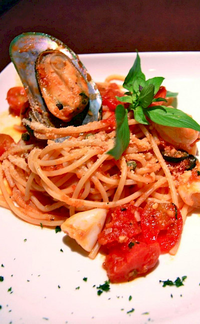 Seafood pasta Italian style. Photo via Flickr:Promote Restaurant