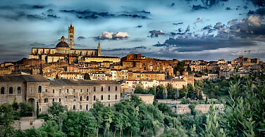 Siena in Tuscany, Italy. Photo via Flickr:Francesco Gazzola